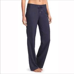 Athleta TALL Mid Town Trouser Navy Stretch Pants